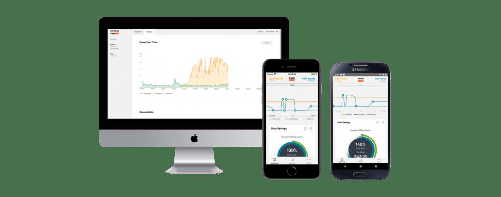PWRview consumption meter app